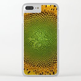 All right, Mr. DeMille, I'm ready for my close-up - Sunflower photography by Jéanpaul Ferro Clear iPhone Case