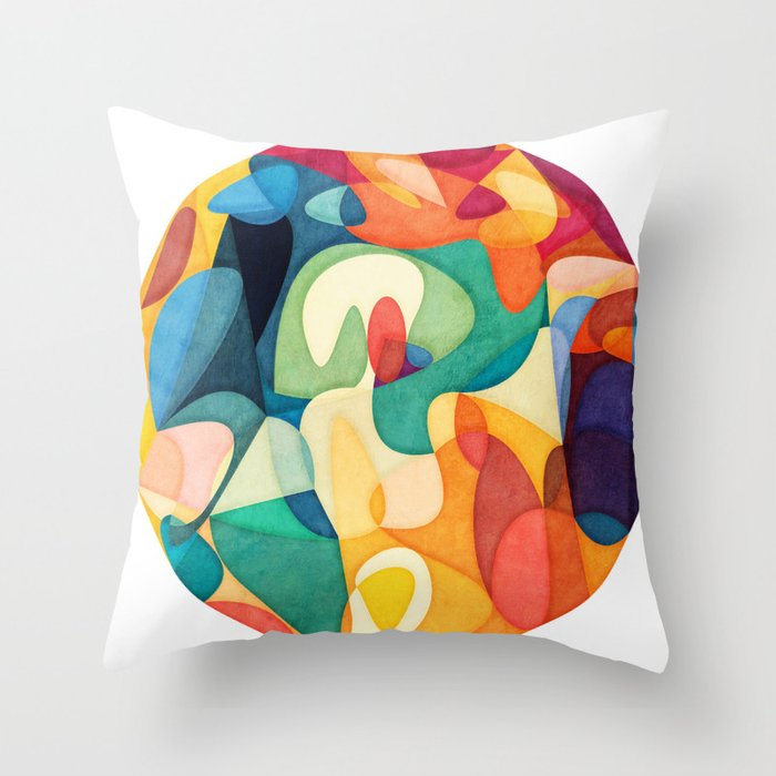 Know It All Throw Pillow