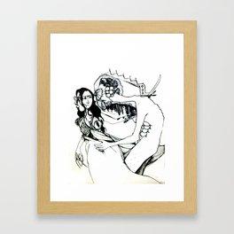 de-escalation Framed Art Print