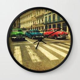 Cuban drive Wall Clock