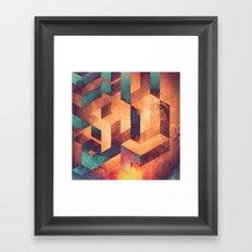 byrnyng Framed Art Print