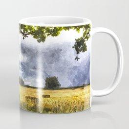 The Farm Watercolor  Coffee Mug