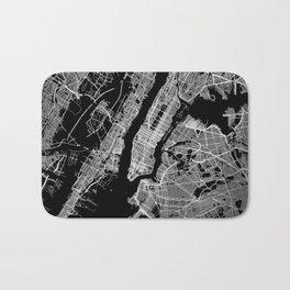 New York map Bath Mat