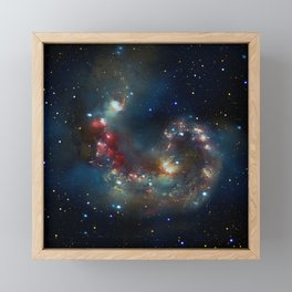 Galactic Spectacle Framed Mini Art Print