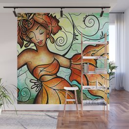 Cubana Mama Wall Mural