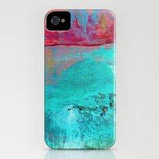 Turquoise Ocean iPhone (4, 4s) Slim Case