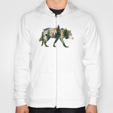 Wolf is the Pride of Nature Hoody