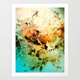 δ Minelava Art Print