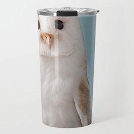 Fizz the Barn Owl Limited Edition Print Travel Mug