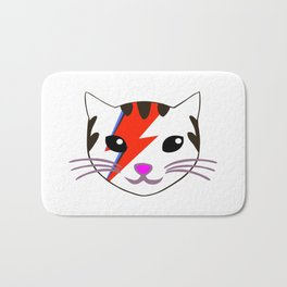 Rebel Star Cat Bath Mat