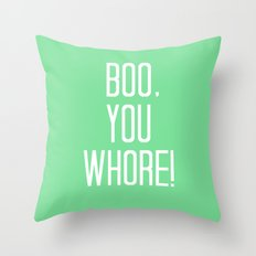 Mean Girls #4 – Boo Throw Pillow