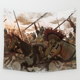 Ancient Warriors Wall Tapestry