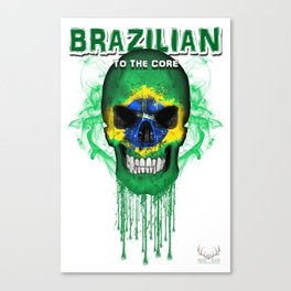To The Core Collection: Brazil Canvas Print