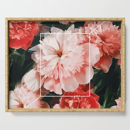 Blossoms Serving Tray