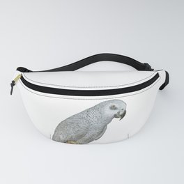African Grey Parrot Fanny Pack