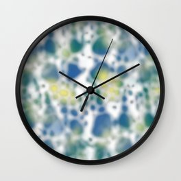 Impression of glimpses of light Wall Clock