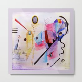 inspiration from Kandinsky . artwork Metal Print