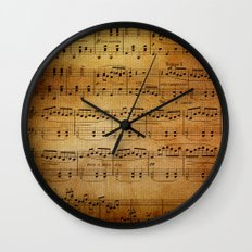 Yesterday's Music Wall Clock