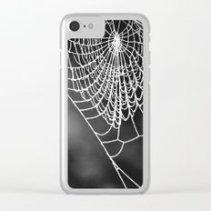 FROZEN WEB Clear iPhone Case