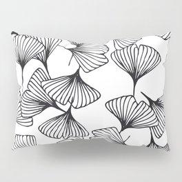 Botanical Outlines | Ginkgo wild Pillow Sham