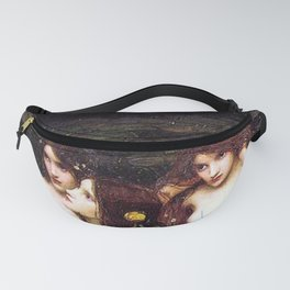 HYLAS AND THE NYMPHS - WATERHOUSE Fanny Pack