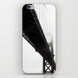 Black Bridge iPhone Skin