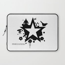 Bargain hunter gatherers character combustion Laptop Sleeve