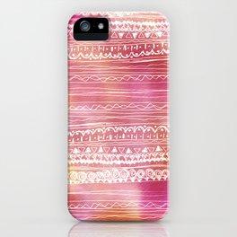aztec spring  iPhone Case