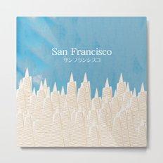 San Francisco TA Metal Print