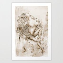 Venus Incarnate  Art Print