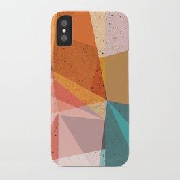 Modern Geometric 67 iPhone Case