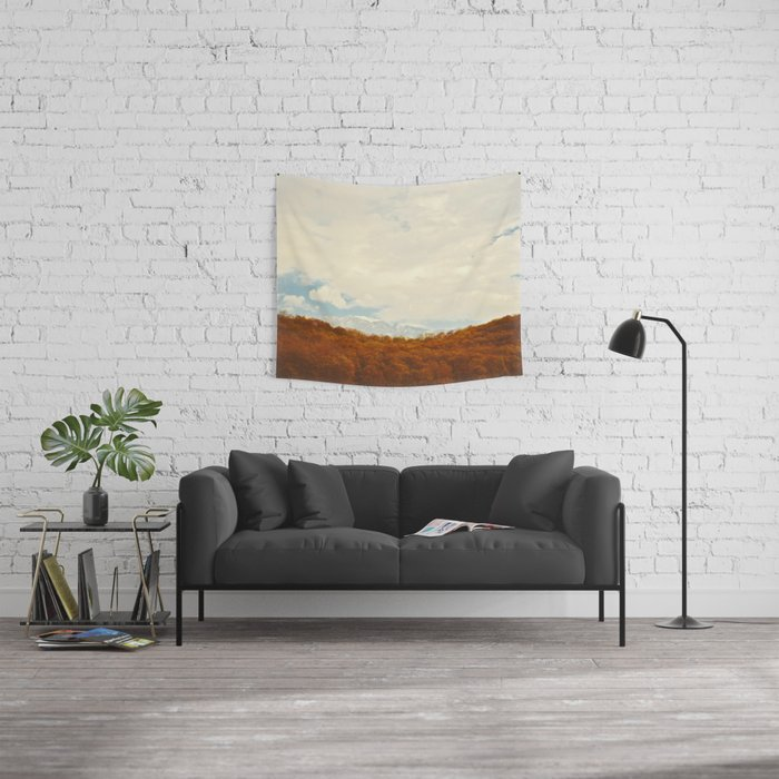 Winterfall Wall Tapestry