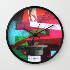 Ceci n´est pas un collage Wall Clock
