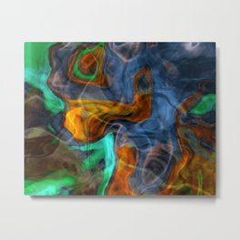 Whispering Scent Metal Print