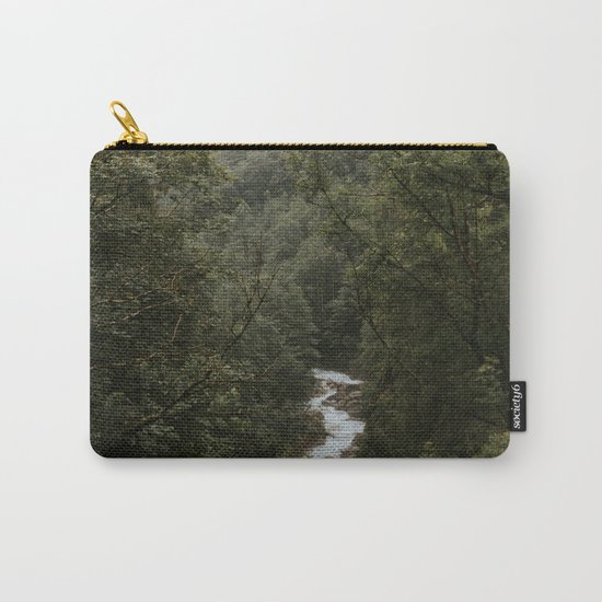 Forest Valley River - Landscape Photography Carry-All Pouch