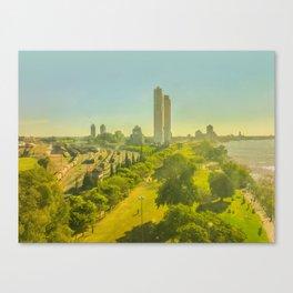 Aerial View of Rosario Coast Canvas Print