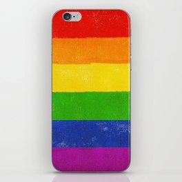 Gay Pride Flag iPhone Skin