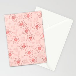 Petite Pink Stationery Cards