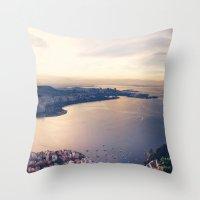 rio Throw Pillows featuring Rio by R.J.