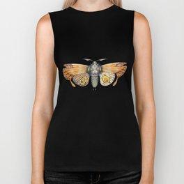 orange moth (ORIGINAL SOLD). Biker Tank
