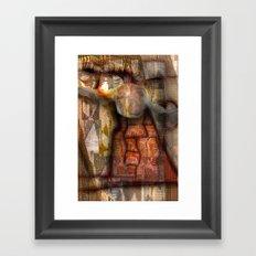Ethnic Gyration Framed Art Print