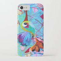 hemingway iPhone & iPod Cases featuring Hemingway - Quirky Bird Series by Hyla Zest
