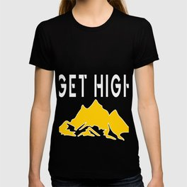 Rockclimbing Mountaineer Climber Climbing Gift T-shirt