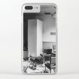 School, Arena, North Dakota 9 Clear iPhone Case
