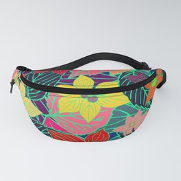 Imaginary garden, digital botanical print Fanny Pack