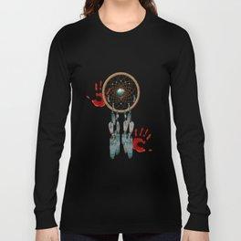 Catching Spirit Native American Long Sleeve T-shirt
