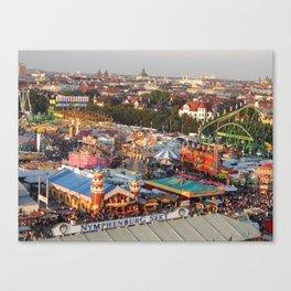 Munichs Oktoberfest Canvas Print