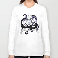 ursula Long Sleeve T-shirts featuring Ursula by ArielPerrenot