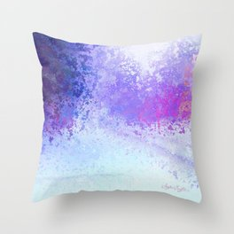 Trapped in Winter Neverend Throw Pillow