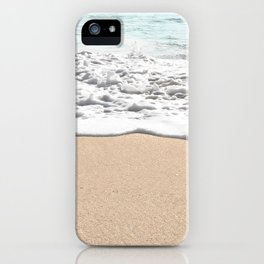 Wave Foam // California Ocean Pier Sandy Beaches Surf Country Pacific West Coast Photography iPhone Case